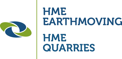 HME Earthmoving logo